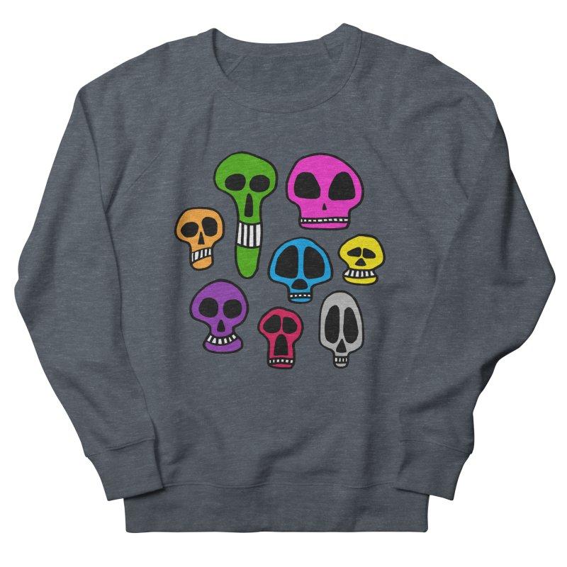 Color Skulls Men's Sweatshirt by jeffisawesome's Artist Shop