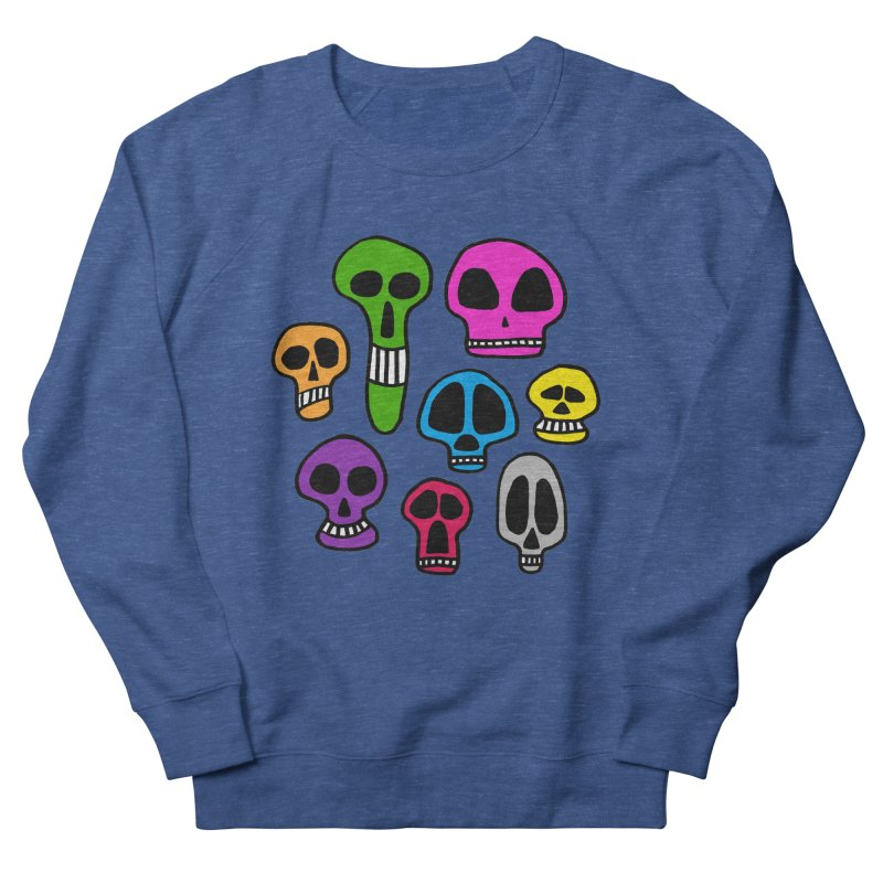 Color Skulls Men's Sweatshirt by jeffisawesome's Artist Shop