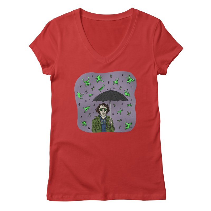 Homage to P.T. Anderson Women's Regular V-Neck by jeffisawesome's Artist Shop