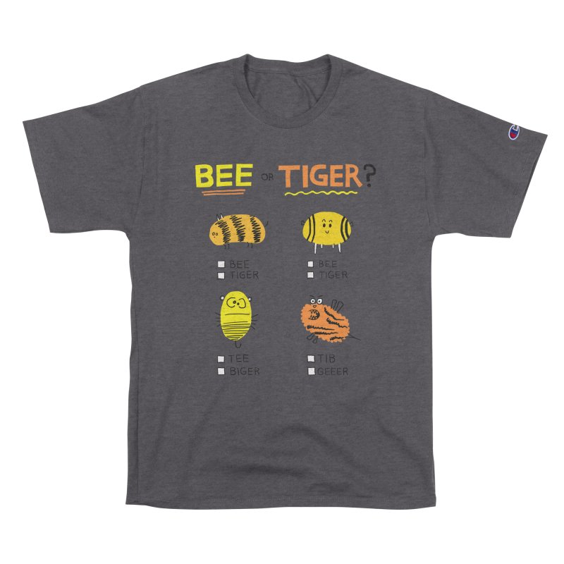 Bee or Tiger? Women's T-Shirt by jeffisawesome's Artist Shop
