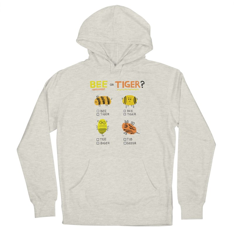 Bee or Tiger? Men's Pullover Hoody by jeffisawesome's Artist Shop