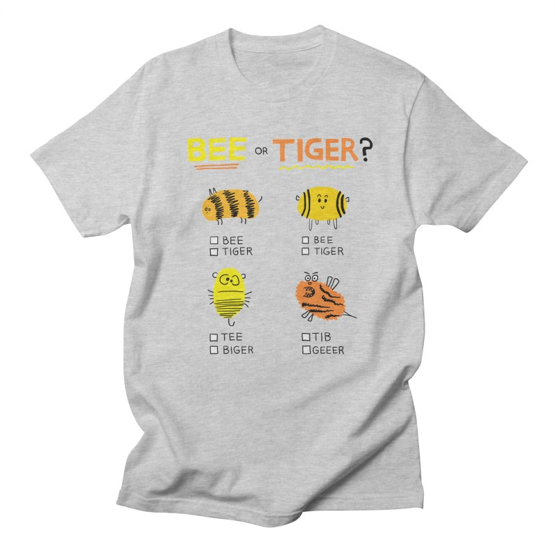 Bee or Tiger? Men's Regular T-Shirt by jeffisawesome's Artist Shop
