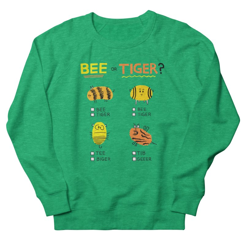 Bee or Tiger? Women's Sweatshirt by jeffisawesome's Artist Shop
