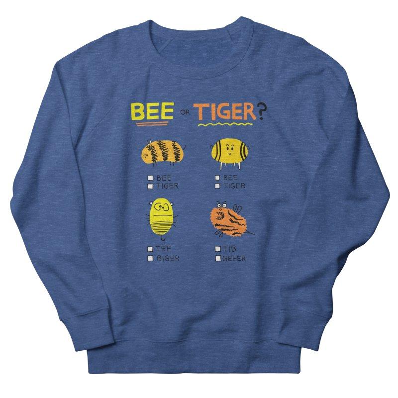 Bee or Tiger? Men's Sweatshirt by jeffisawesome's Artist Shop