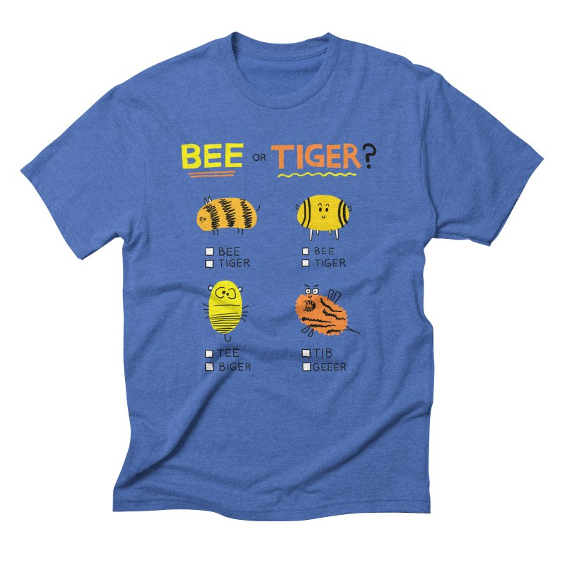 Bee or Tiger? Men's T-Shirt by jeffisawesome's Artist Shop
