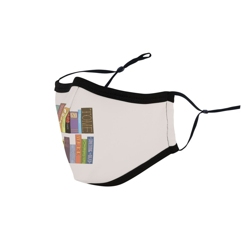 Meta-Bookshelf Accessories Face Mask by jeffisawesome's Artist Shop