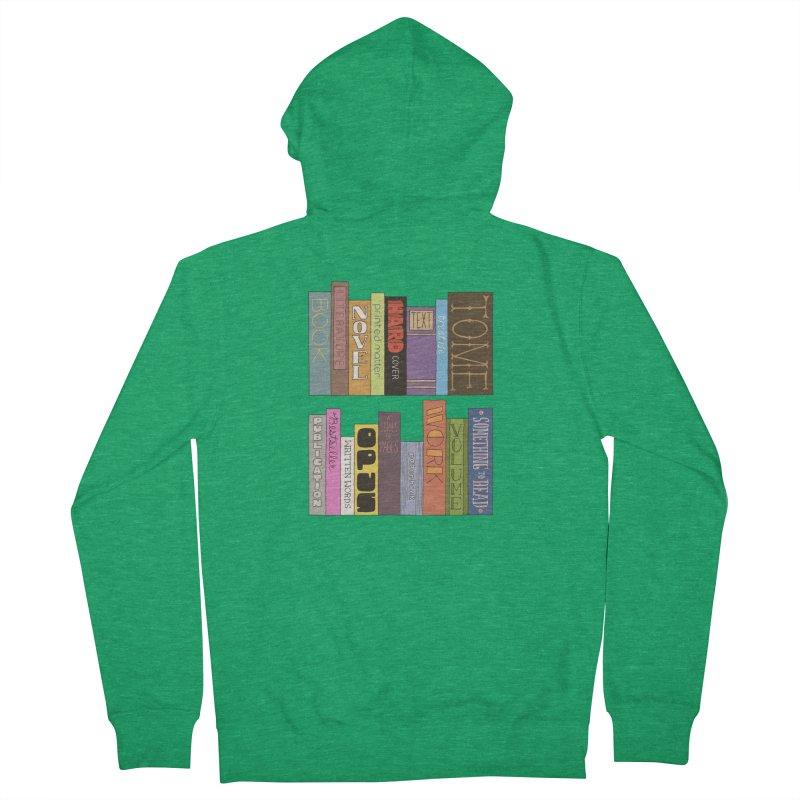 Meta-Bookshelf Women's Zip-Up Hoody by jeffisawesome's Artist Shop