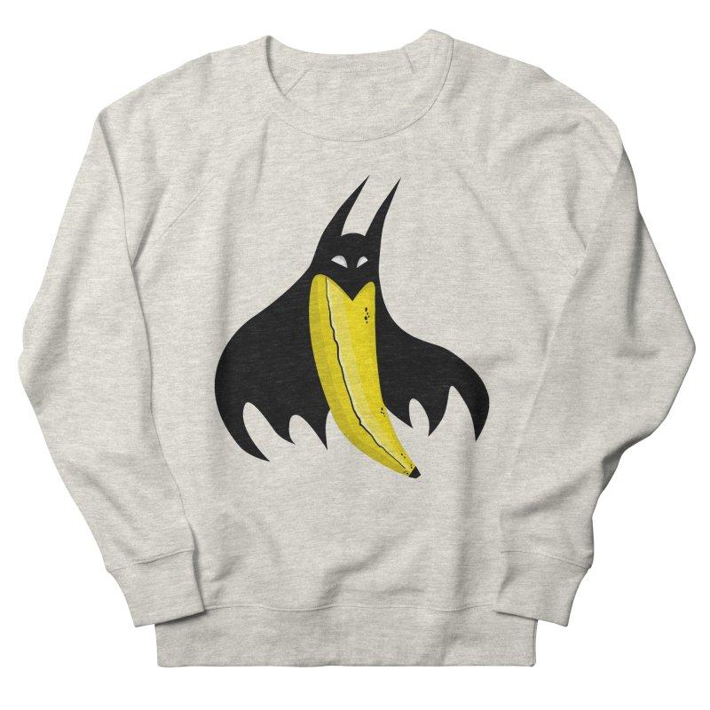 Batnana Men's French Terry Sweatshirt by jeffisawesome's Artist Shop