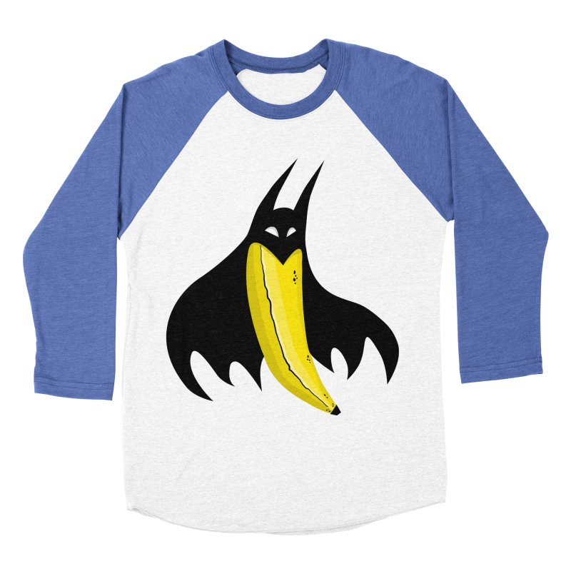 Batnana Women's Baseball Triblend Longsleeve T-Shirt by jeffisawesome's Artist Shop