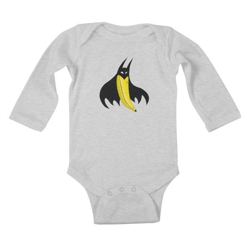 Batnana Kids Baby Longsleeve Bodysuit by jeffisawesome's Artist Shop