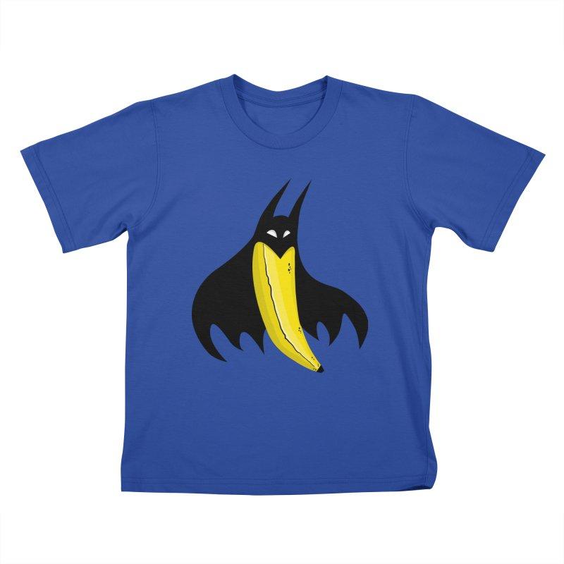 Batnana Kids T-Shirt by jeffisawesome's Artist Shop