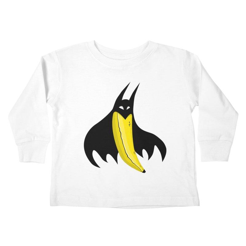 Batnana Kids Toddler Longsleeve T-Shirt by jeffisawesome's Artist Shop