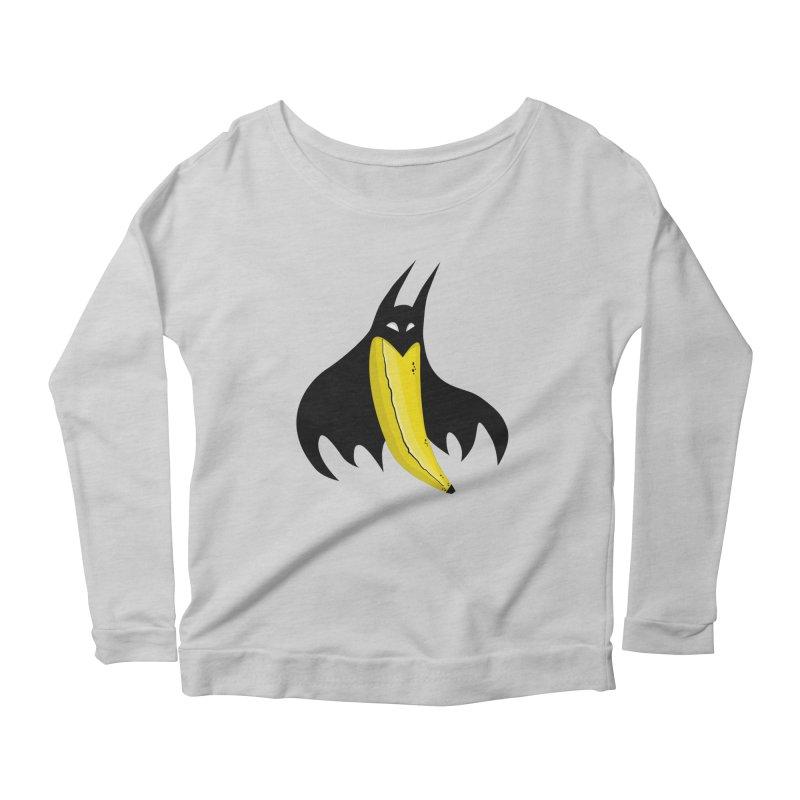 Batnana Women's Scoop Neck Longsleeve T-Shirt by jeffisawesome's Artist Shop