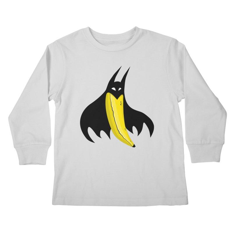 Batnana Kids Longsleeve T-Shirt by jeffisawesome's Artist Shop