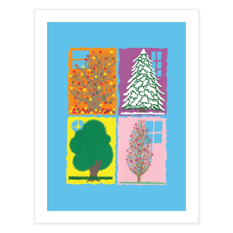 The Paper House: Seasons Home Fine Art Print by jeffisawesome's Artist Shop
