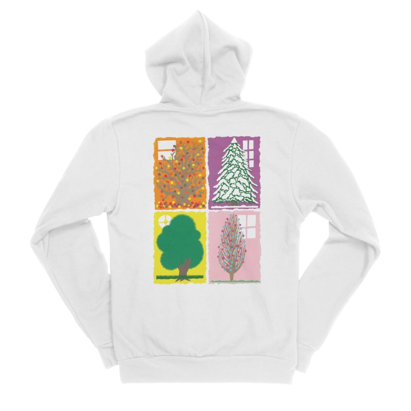 The Paper House: Seasons Women's Zip-Up Hoody by jeffisawesome's Artist Shop