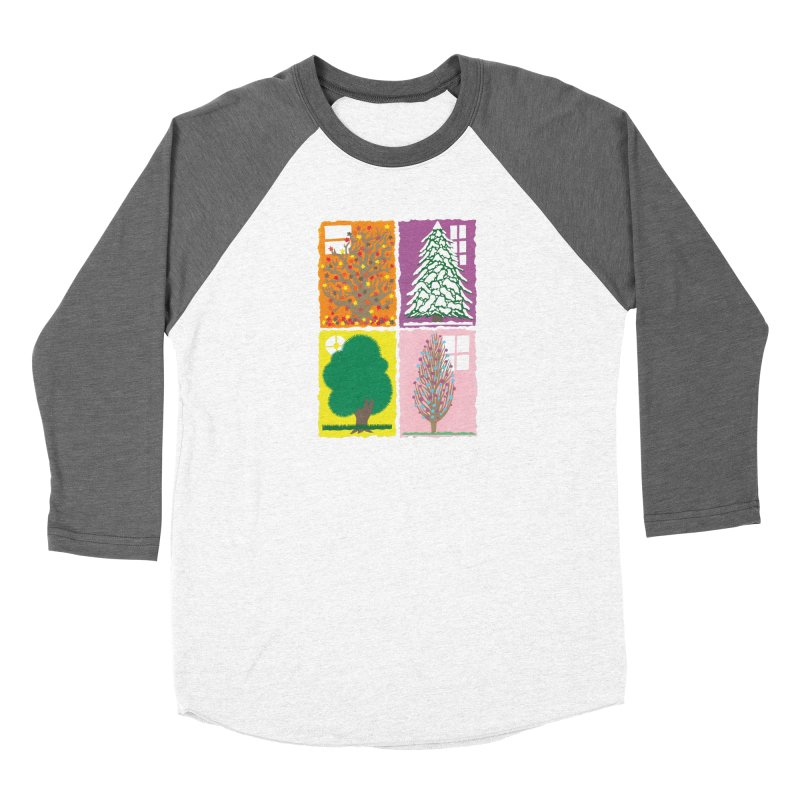 The Paper House: Seasons Women's Longsleeve T-Shirt by jeffisawesome's Artist Shop