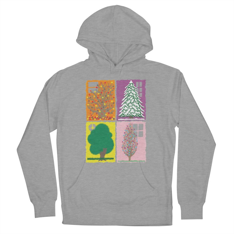 The Paper House: Seasons Women's French Terry Pullover Hoody by jeffisawesome's Artist Shop