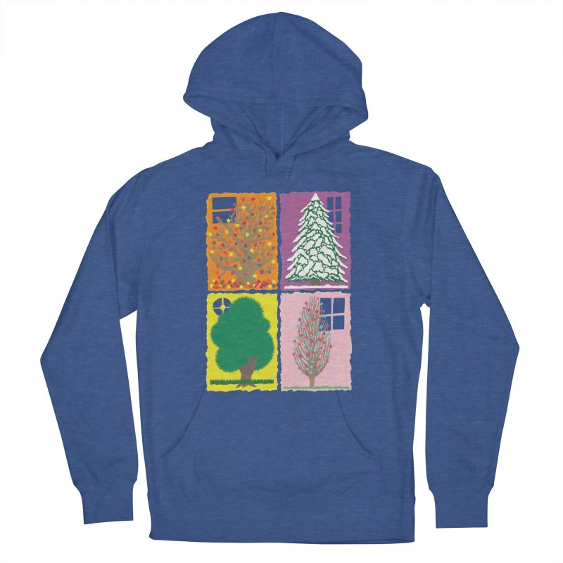The Paper House: Seasons Men's French Terry Pullover Hoody by jeffisawesome's Artist Shop