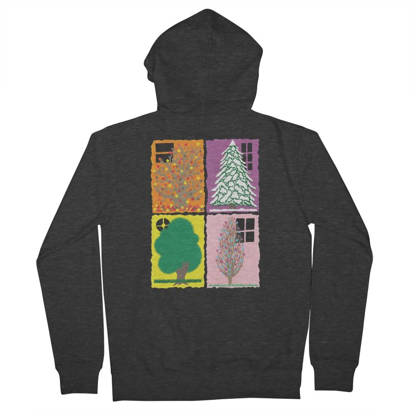 The Paper House: Seasons Men's Zip-Up Hoody by jeffisawesome's Artist Shop