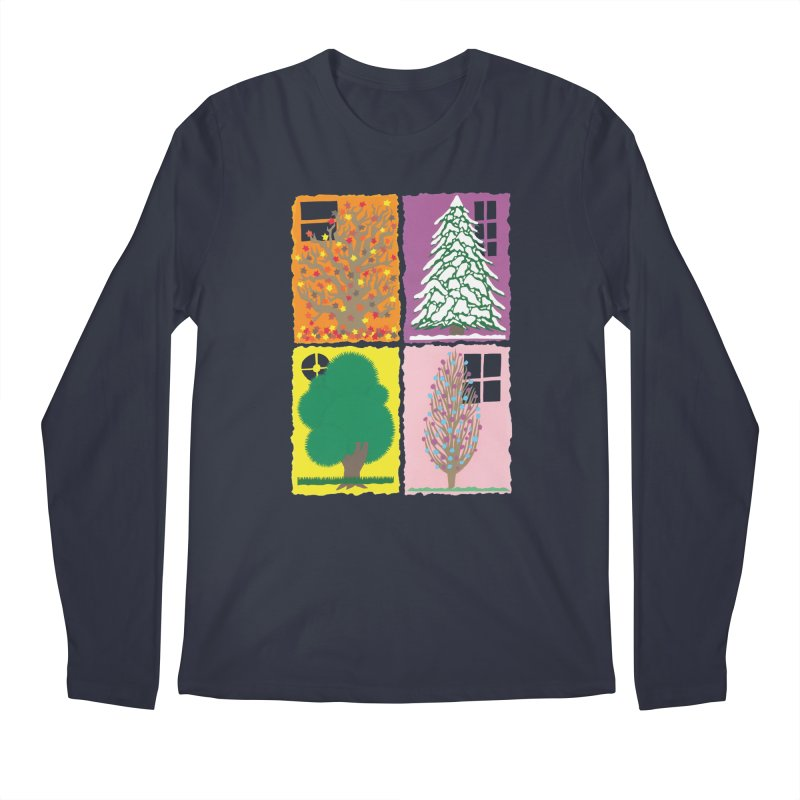The Paper House: Seasons Men's Regular Longsleeve T-Shirt by jeffisawesome's Artist Shop