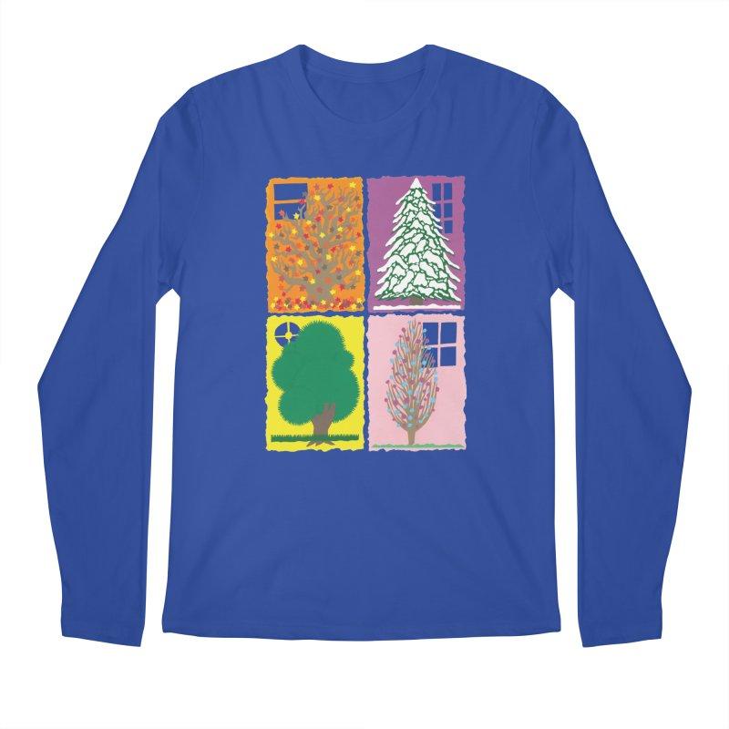 The Paper House: Seasons Men's Regular Longsleeve T-Shirt by jeffisawesome's Artist Shop