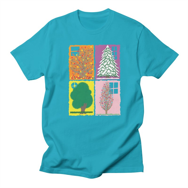 The Paper House: Seasons Men's Regular T-Shirt by jeffisawesome's Artist Shop