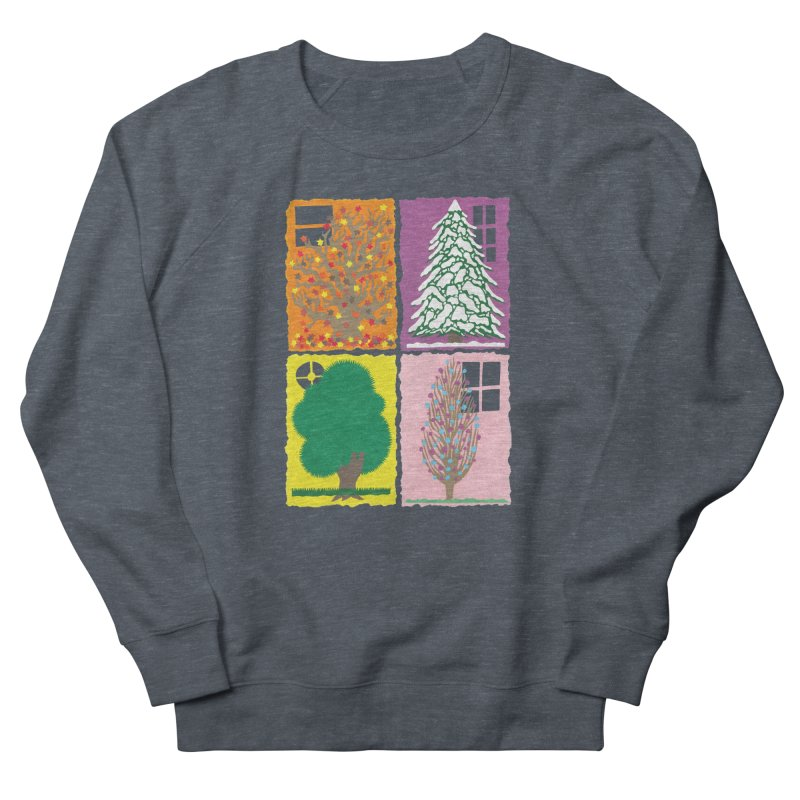 The Paper House: Seasons Women's French Terry Sweatshirt by jeffisawesome's Artist Shop