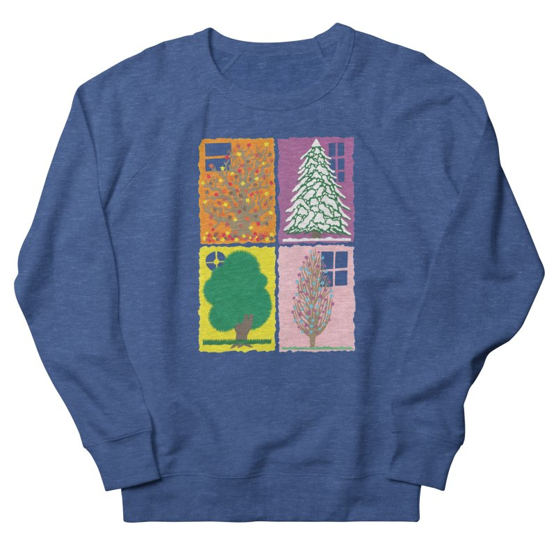 The Paper House: Seasons Men's French Terry Sweatshirt by jeffisawesome's Artist Shop