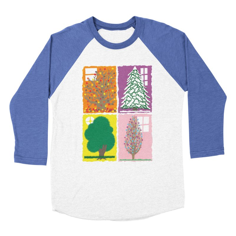 The Paper House: Seasons Women's Baseball Triblend Longsleeve T-Shirt by jeffisawesome's Artist Shop