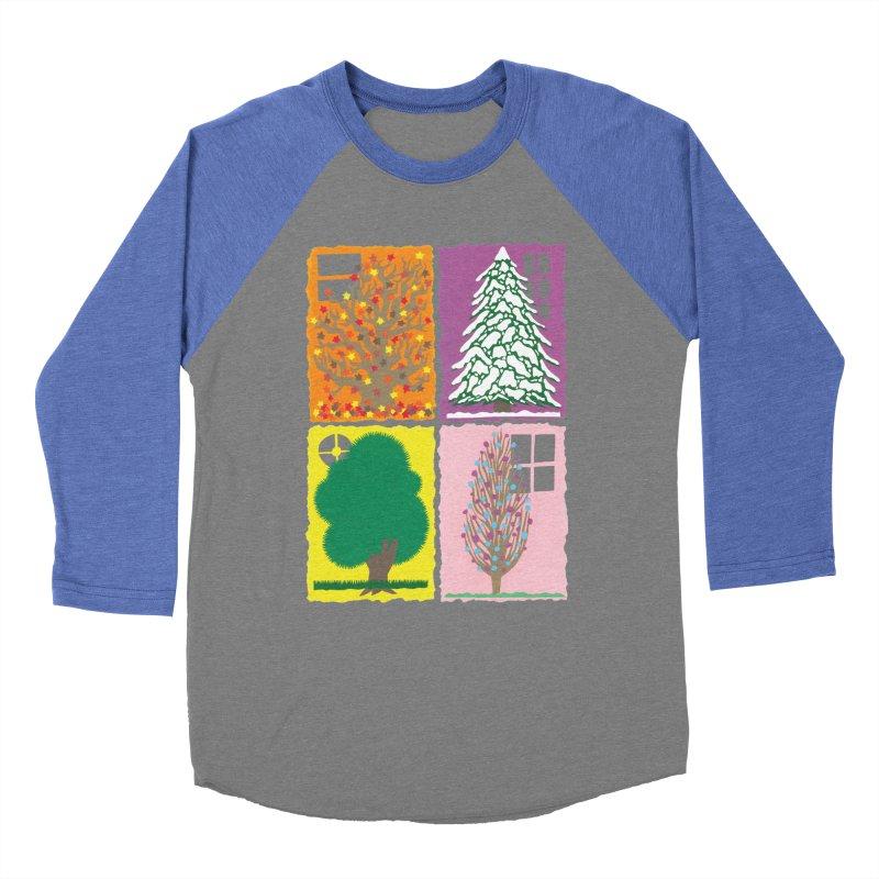 The Paper House: Seasons Men's Baseball Triblend Longsleeve T-Shirt by jeffisawesome's Artist Shop
