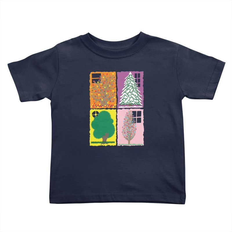The Paper House: Seasons Kids Toddler T-Shirt by jeffisawesome's Artist Shop