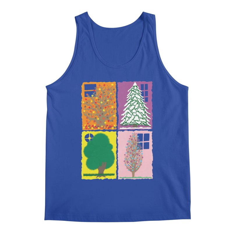 The Paper House: Seasons Men's Tank by jeffisawesome's Artist Shop