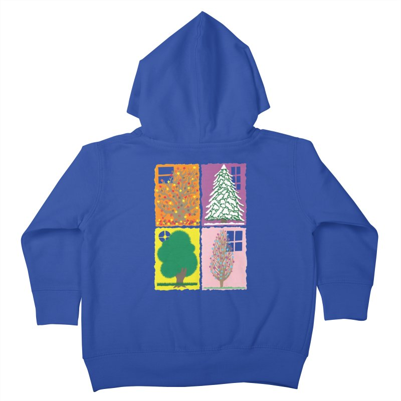 The Paper House: Seasons Kids Toddler Zip-Up Hoody by jeffisawesome's Artist Shop