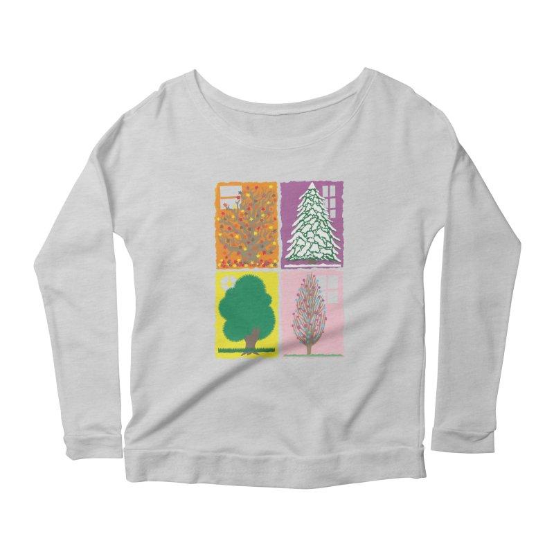 The Paper House: Seasons Women's Scoop Neck Longsleeve T-Shirt by jeffisawesome's Artist Shop