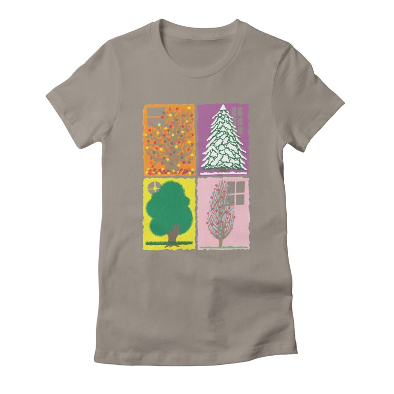 The Paper House: Seasons Women's T-Shirt by jeffisawesome's Artist Shop