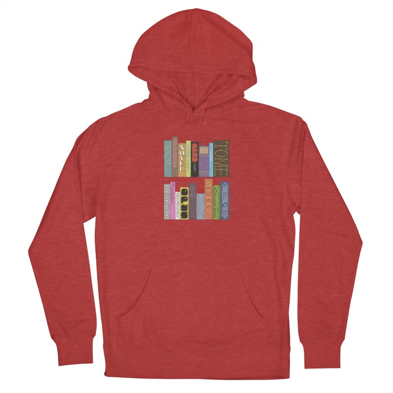 Meta-Bookshelf Women's Pullover Hoody by jeffisawesome's Artist Shop