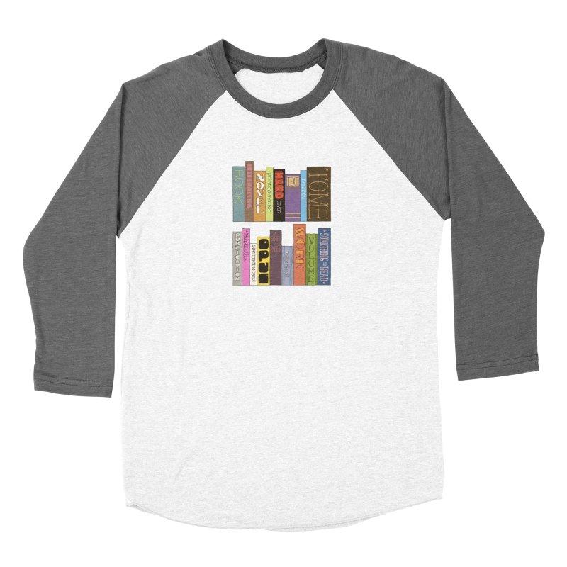 Meta-Bookshelf Women's Longsleeve T-Shirt by jeffisawesome's Artist Shop