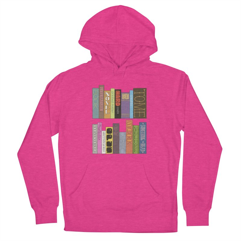 Meta-Bookshelf Women's French Terry Pullover Hoody by jeffisawesome's Artist Shop