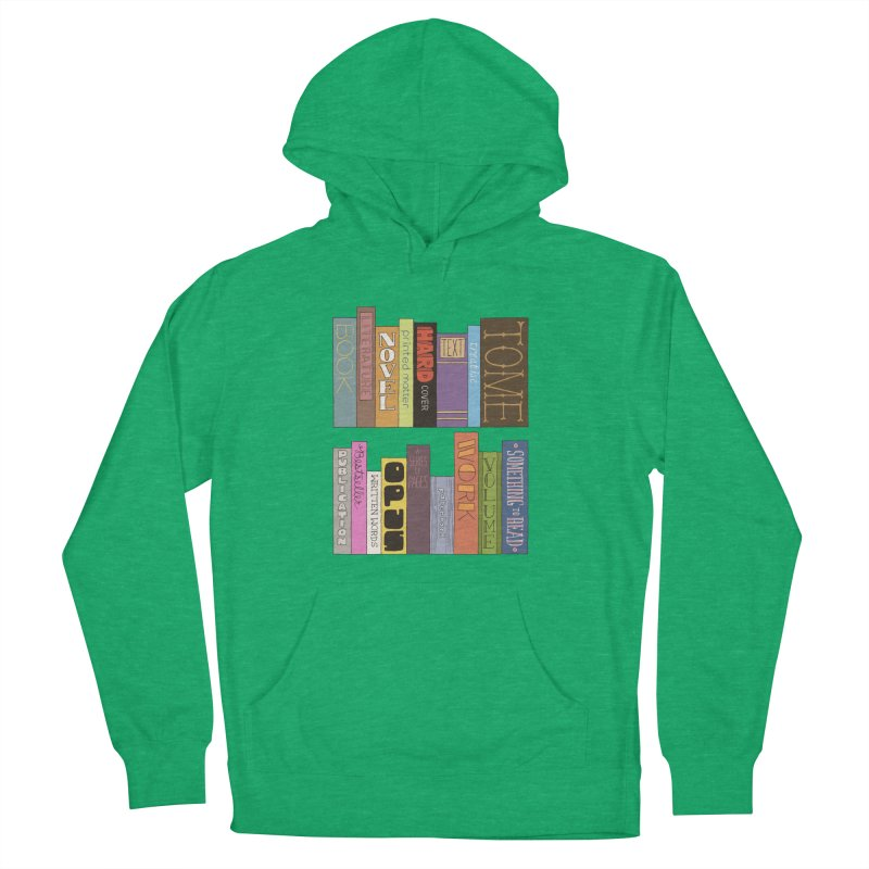 Meta-Bookshelf Men's French Terry Pullover Hoody by jeffisawesome's Artist Shop