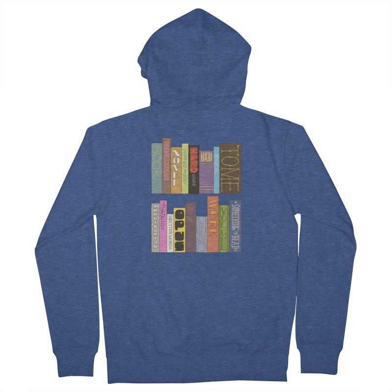 Meta-Bookshelf Women's French Terry Zip-Up Hoody by jeffisawesome's Artist Shop