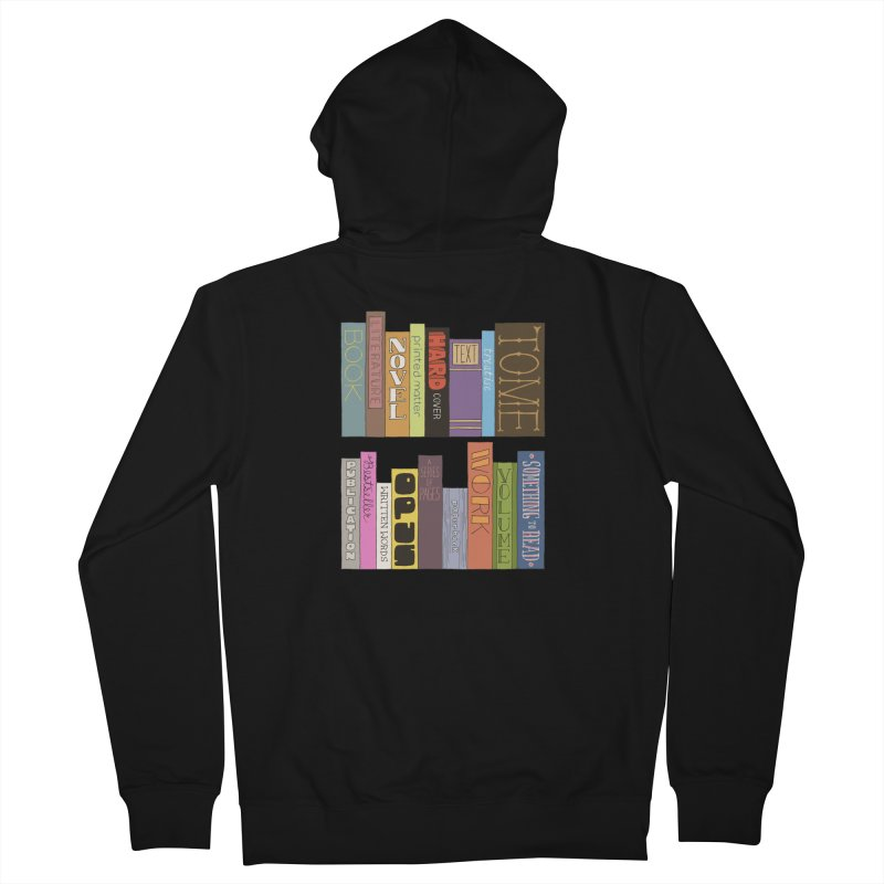 Meta-Bookshelf Women's French Terry Zip-Up Hoody by jeffisawesome's Artist Shop