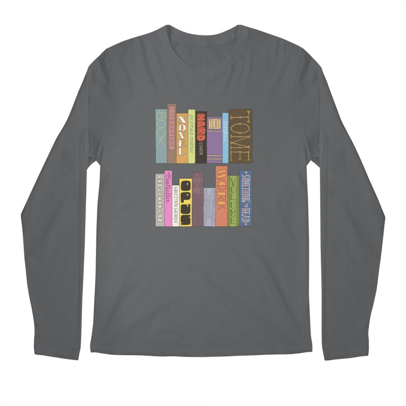 Meta-Bookshelf Men's Longsleeve T-Shirt by jeffisawesome's Artist Shop