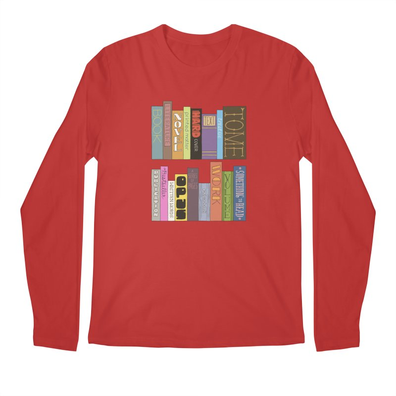 Meta-Bookshelf Men's Regular Longsleeve T-Shirt by jeffisawesome's Artist Shop