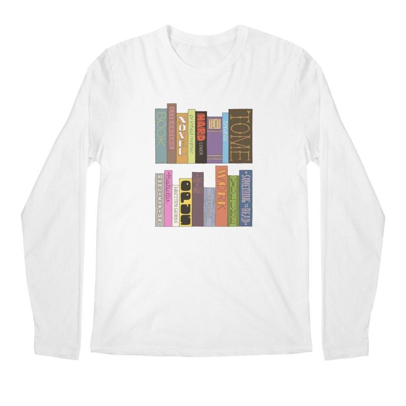 Meta-Bookshelf Men's Longsleeve T-Shirt by jeffisawesome's Artist Shop