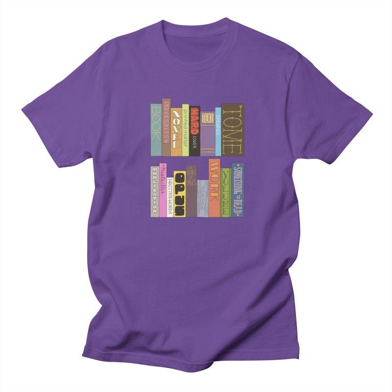Meta-Bookshelf Men's T-Shirt by jeffisawesome's Artist Shop