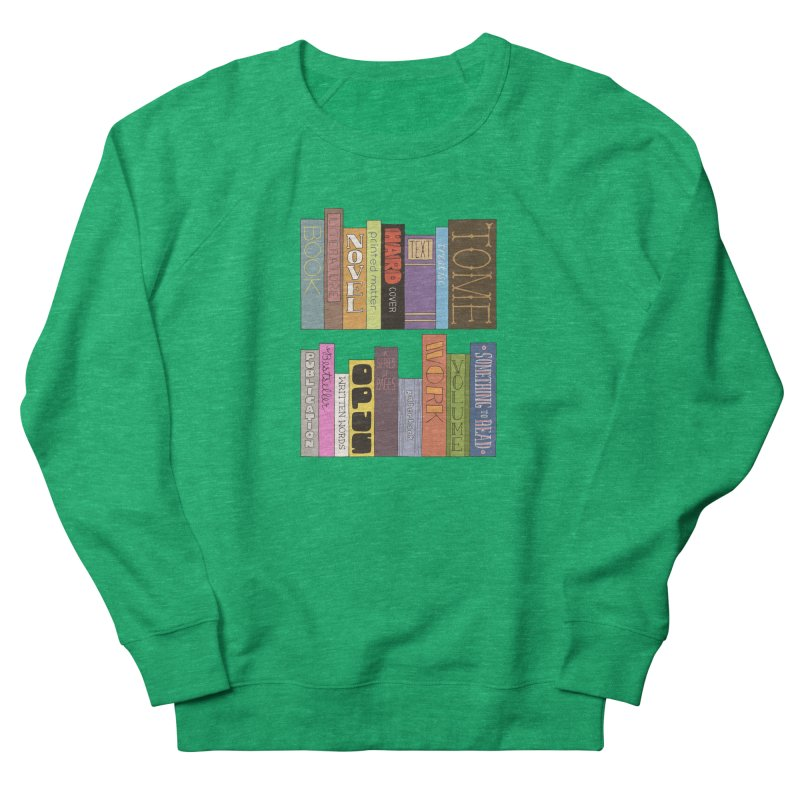 Meta-Bookshelf Women's French Terry Sweatshirt by jeffisawesome's Artist Shop