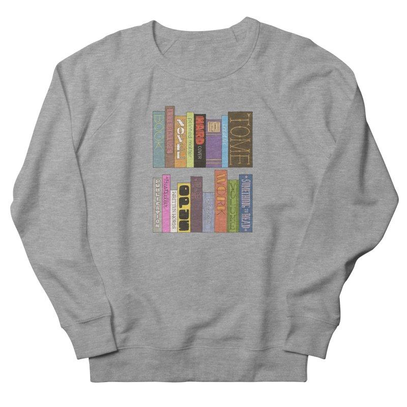 Meta-Bookshelf Women's French Terry Sweatshirt by jeffisawesome's Artist Shop