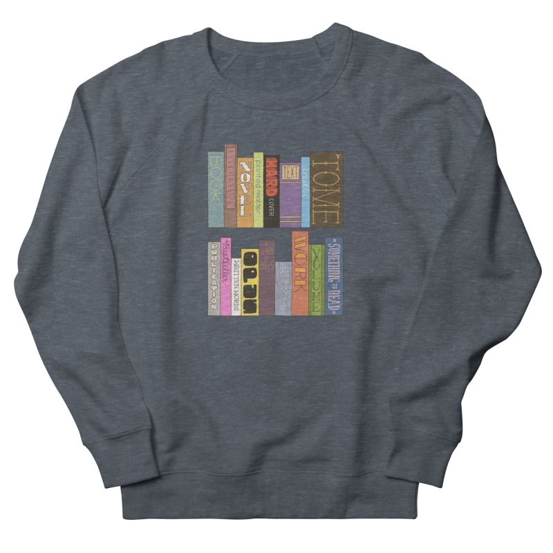 Meta-Bookshelf Men's French Terry Sweatshirt by jeffisawesome's Artist Shop