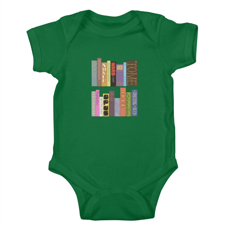 Meta-Bookshelf Kids Baby Bodysuit by jeffisawesome's Artist Shop